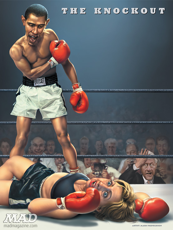 MAD About Obama — The Knockout