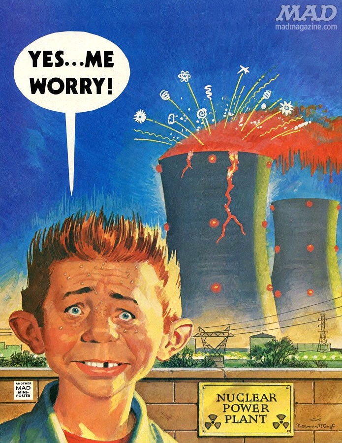 mad magazine the idiotical back covers norman mingo three mile island