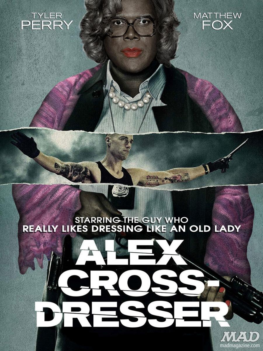MAD Magazine Alex Cross Dresser