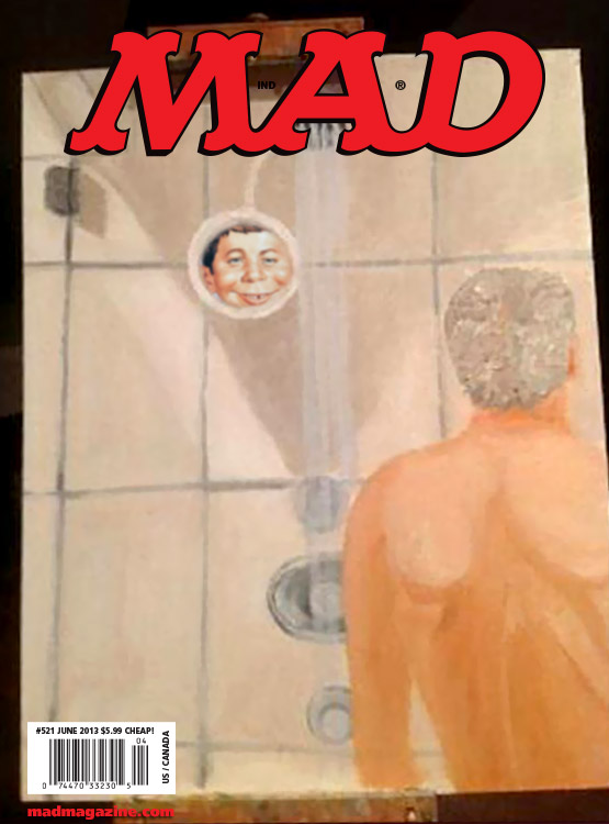 mad magazine the idiotical MAD's New Cover Artist: George W. Bush	Idiotical Originals, Politics, George W. Bush, Painting, Art, Republican, President, The Cover We Didn't Use, Gin Blossoms Reunion Petition