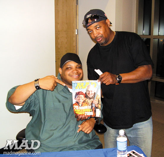 MAD magazine the idiotical Celebrity Snaps: Chuck D. of Public Enemy Celebrity Snaps, Chuck D., Public Enemy, Music, Hip-Hop, Rap