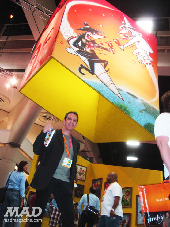 MAD Magazine SDCC2012 Booth-PeterKuperSpies