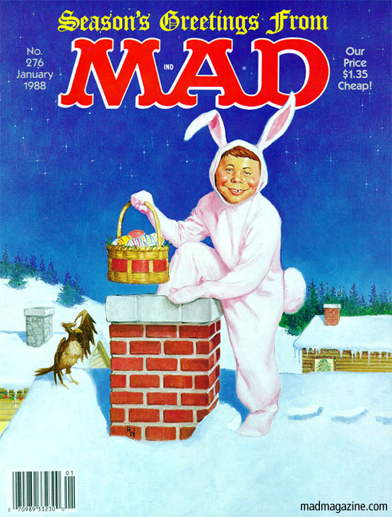 MAD Magazine Cover 276 Merry Easter Alfred E Neuman Richard Williams