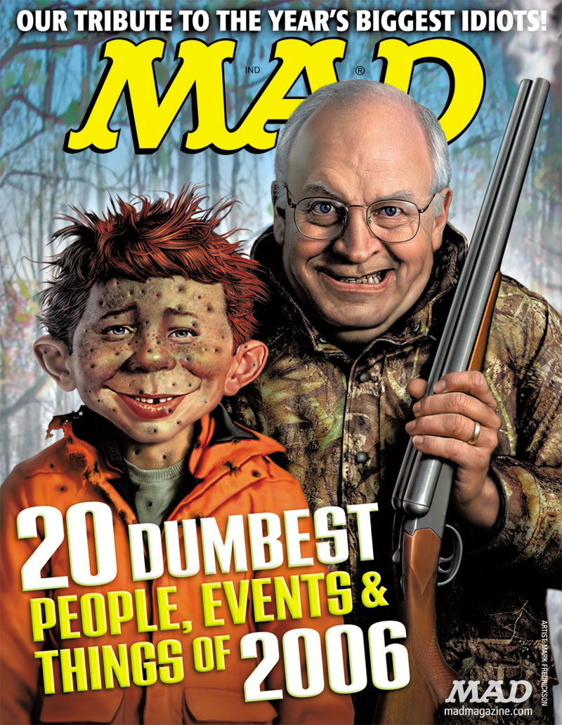MAD Magazine Cover 473 Dick Cheney Mark Fredrickson