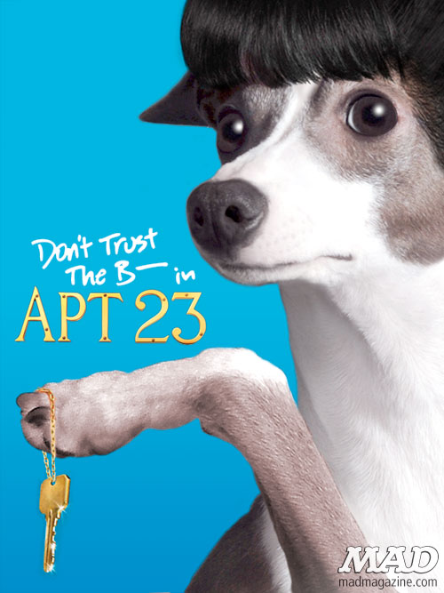 MAD Magazine New Shows on DogTV TV for Dogs This Old Dog House The golden Retriever girls labradora dora the explorer the idiotical don't trust the b in apt 23 californication colliefornication
