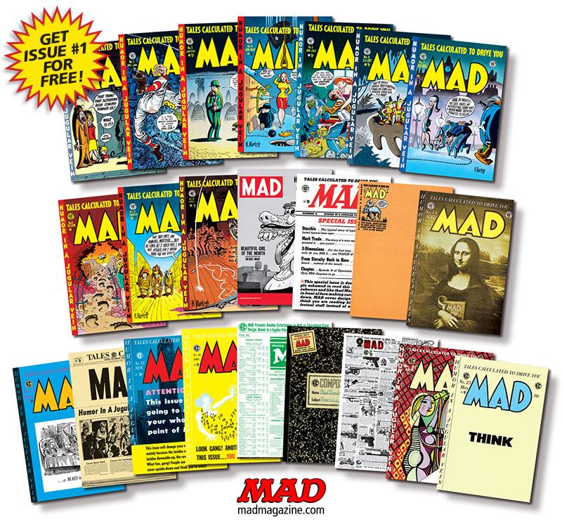 Resultado de imagen para mad magazine # 1