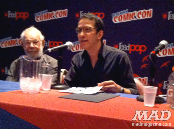mad magazine the idiotical new york comic con al jaffee peter kuper