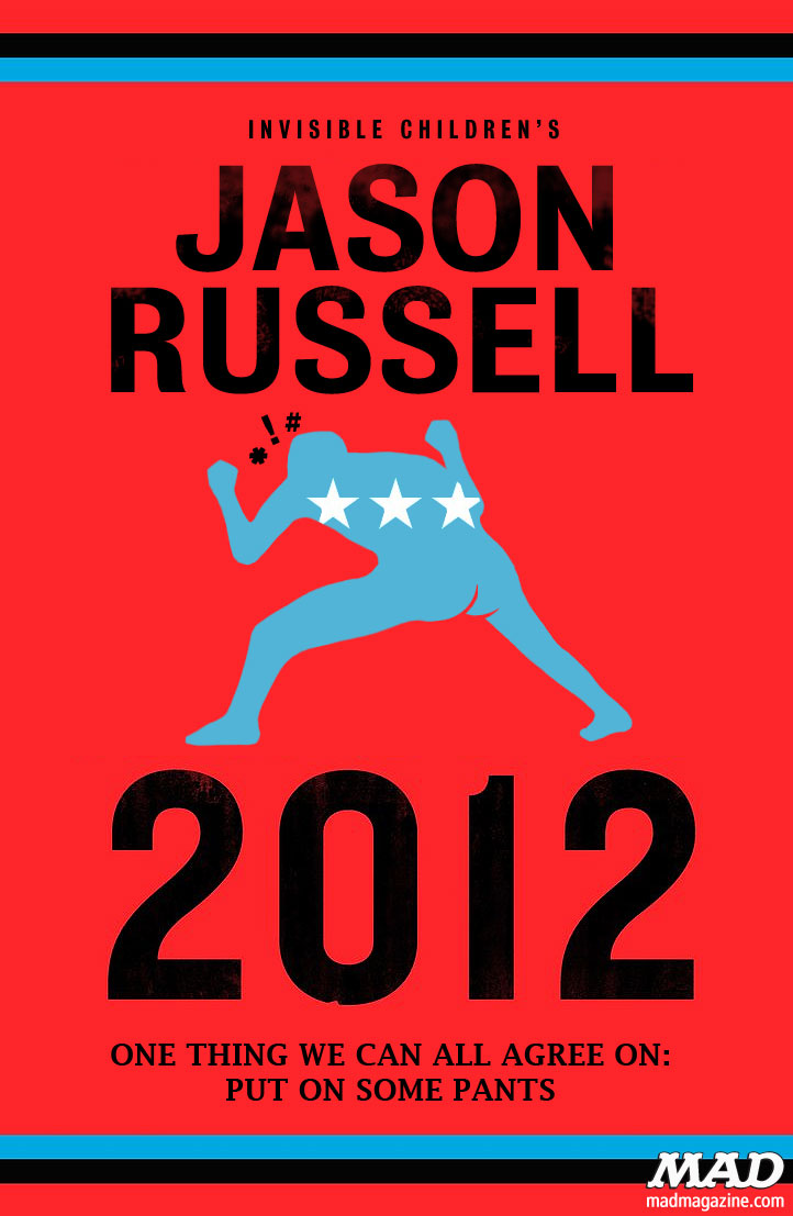MAD Magazine Kony 2012 Jason Russell Meltdown Poster The Idiotical