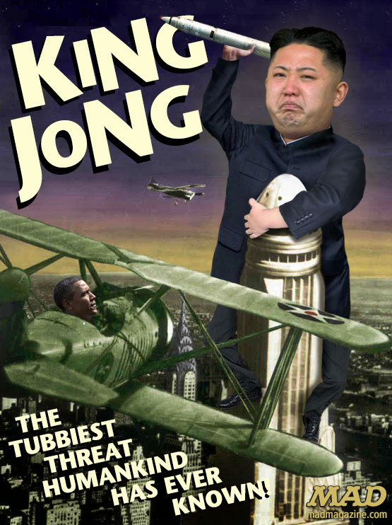 mad magazine the idiotical Kim Jong-uns Crazy New Movie Idiotical Originals, Movies, Classic Movies, King Kong, Politics, North Korea, Kim Jong-un, MAD Posters, Movie Posters, Federal Grants to Study Why People Lose Sneezes