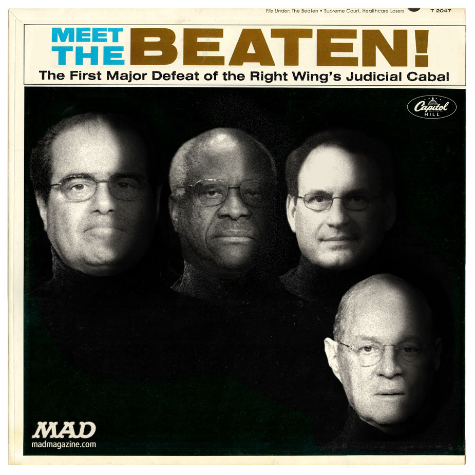 mad magazines the idiotical meet the beaten the beatles obamacare supreme court