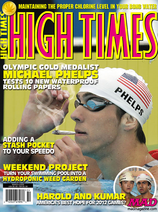 mad magazine the idiotical Michael Phelps Celebrates After Breaking the Olympic Record Sports, Michael Phelps, Swimming, Olympics, Summer Olympics, Records, High Times, Magazine Covers