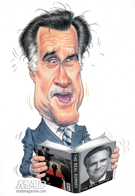 MAD Magazine Mitt Romney Sam Sisco The Real Romney Artist Spotlight The Idiotical