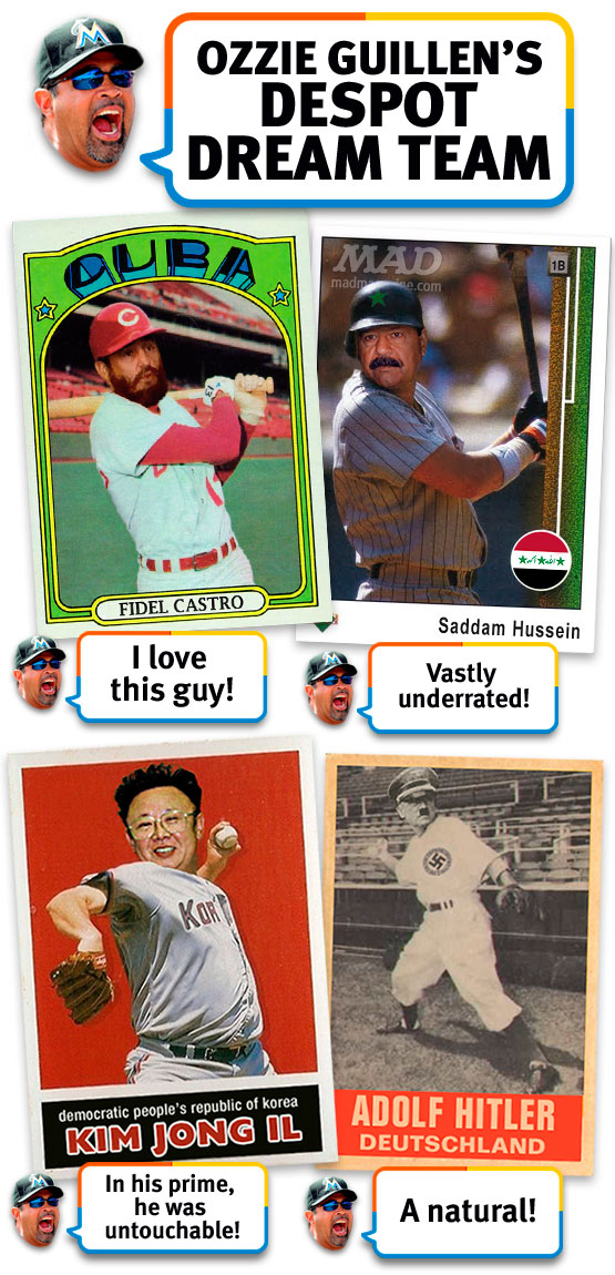MAD Magazine Ozzie Guillen's Despot Dream Team