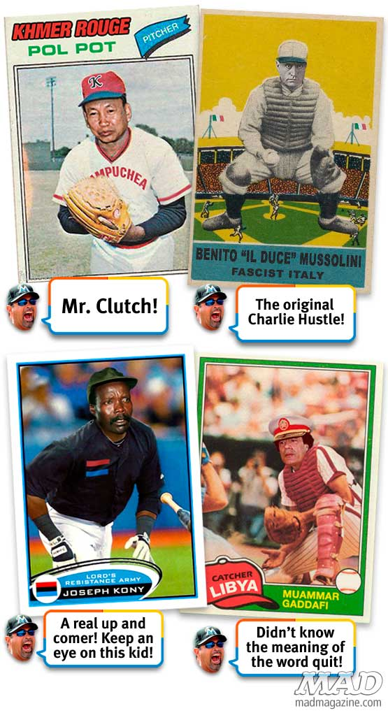 MAD Magazine Ozzie Guillen's Despot Dream Team complete