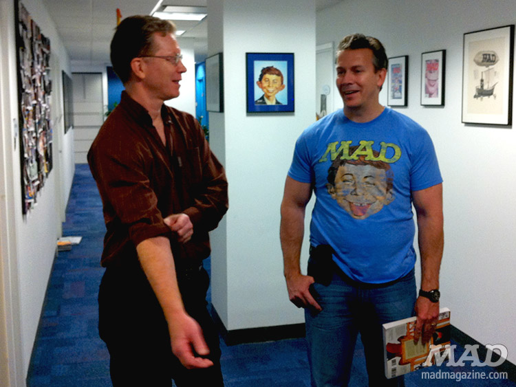 mad magazine the idiotical tom richmond pat merrell mad offices