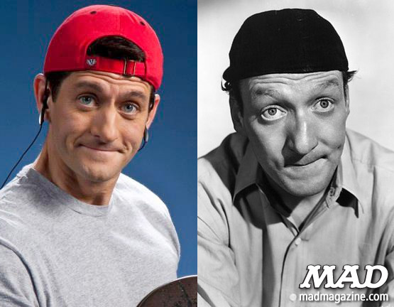 mad magazine the idiotical The MAD Face-Off: Paul Ryan vs. Huntz Hall Idiotical Originals, Politics, Television, Paul Ryan, Huntz Hall, The Bowery Boys, Presidential Election, Presidential Race, Vice Presidents, MAD Face-Off, Granite Quarry Mishaps