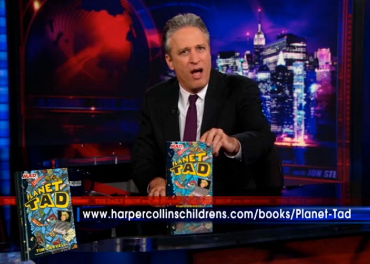 MAD Magazine Planet Tad Daily Show Jon Stewart Tim Carvell The Idiotical Comedy Central
