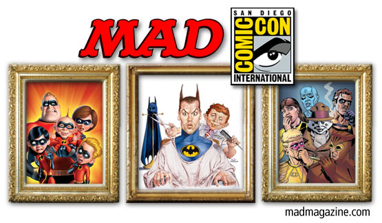 MAD at San Diego Comic-Con 2012 MAD Events, San Diego Comic-Con, SDCC, Mark Fredrickson, Mort Drucker, Dave G</body></html>