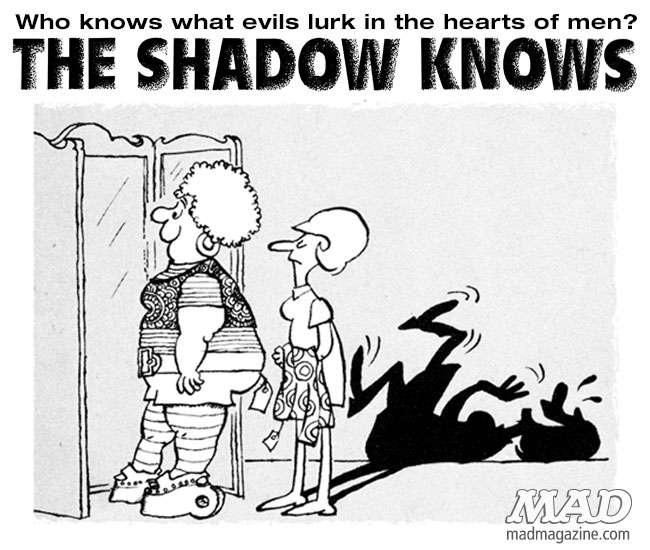 The Shadow Knows, Sergio Aragones, Honesty