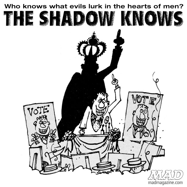 The Shadow Knows, Sergio Aragones, Politics