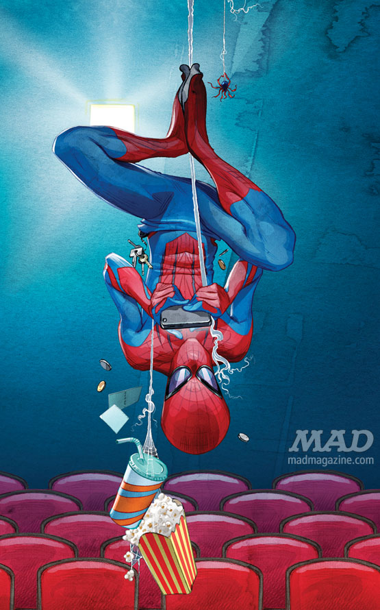 mad magazine the idiotical Artist Spotlight: Hermann Mejia Artist Spotlight, Hermann Mejia, Spider-Man, The Amazing Spider-Man, The Avengers, Marvel, Movies, Comic Books, Desmond Devlin