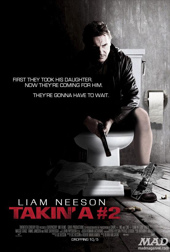 Liam Neeson's Crappy New Movie | Mad Magazine