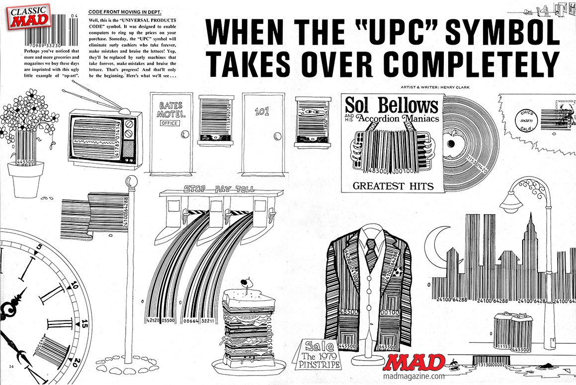 MAD Magazine 198 UPC Takes Over 1-2
