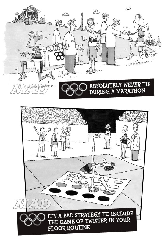 mad magazine the idiotical MAD About the Olympics: Unwritten Rules for Olympic Athletes C</body></html>