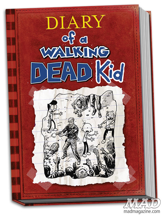 mad magazine the idiotical Graphic Novel Review: Diary of a Walking Dead Kid Television, Books, Comic Books, Graphic Novels, Comics, Graphic Novel Review, Walking Dead, Diary of a Wimpy Kid, Robert Kirkman, Zombies, Diary of a Wimpy Kid, Jeff Kinney, Desmond Devlin, Ty Templeton