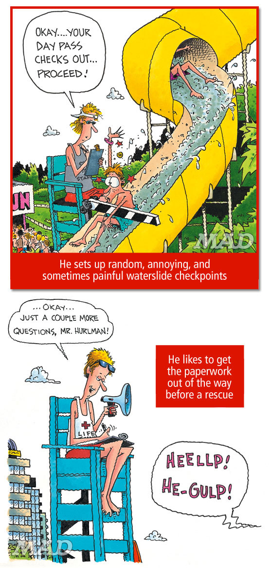 mad magazine the idiotical When Lifeguards Go Bad Classic MAD, John Caldwell, Lifeguards, Summer, Beach, Vacation