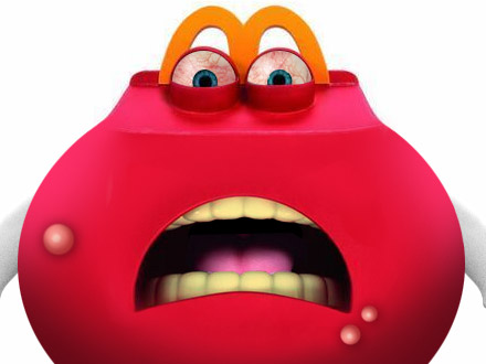 mcdonald s new happy meal mascot before and after mad