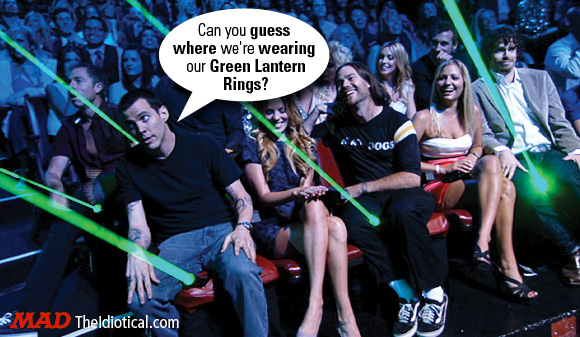 MTV Outtake Green Lantern