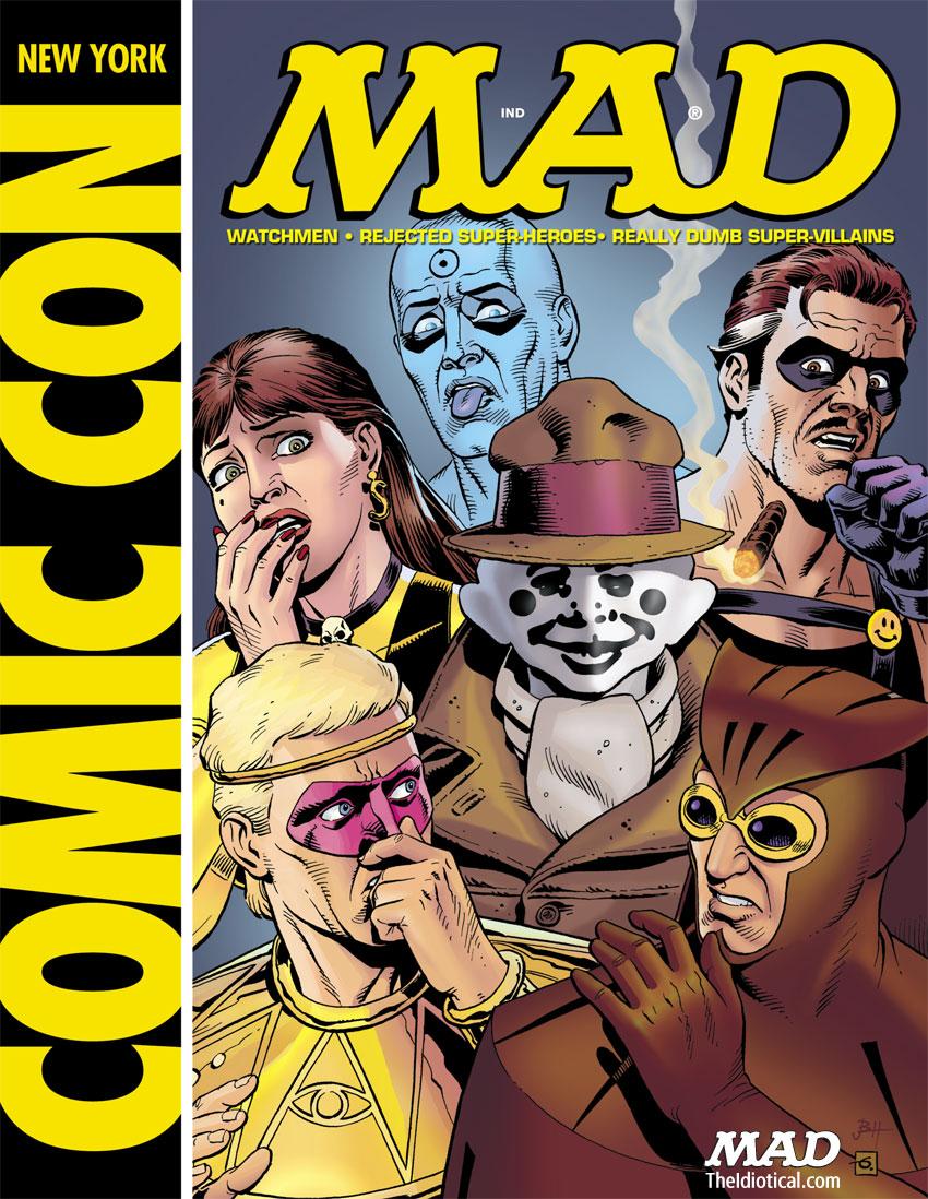 MAD's 'Watchmen' Spoof | Mad Magazine