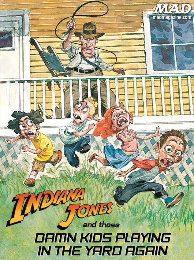 mad magazine the idiotical Suggested Titles for the Next Indiana Jones Movies Classic MAD, Movies, Indiana Jones, Harrison Ford, Internet Rumors, Matthew A. Cohen, Hermann Mejia