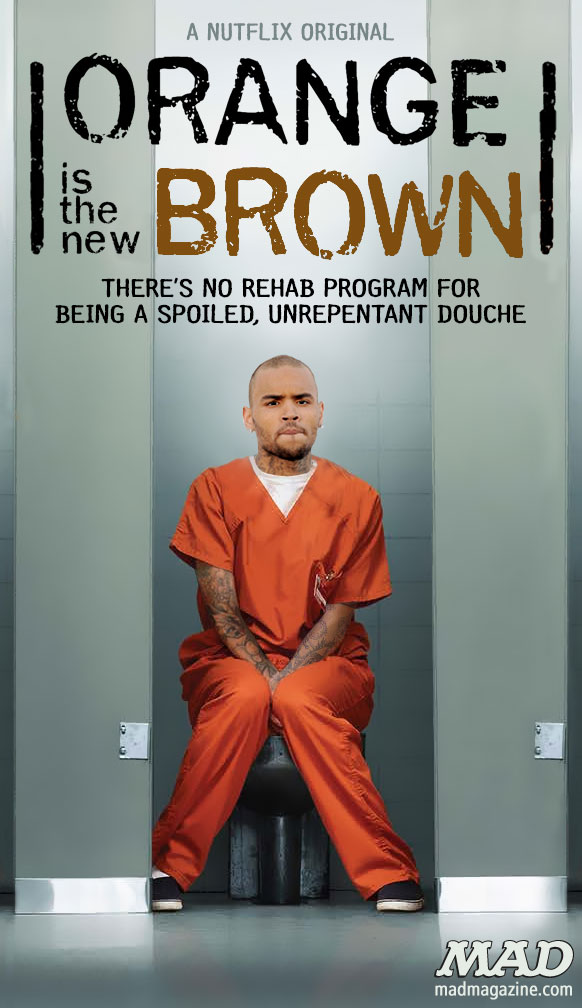 mad magazine the idiotical Chris Brown's New Prison Show Idiotical Originals, Celebrities, Music, Chris Brown, Breezy, Rihanna, Rehab, Prison, Jail, Posters, MAD Posters, Downton Abbey Face Tattoos
