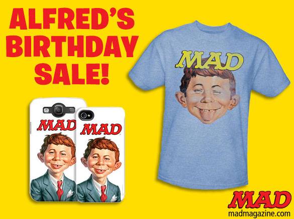 MAD Merchandise, Spy vs. Spy, Just-Us League, Alfred E. Neuman