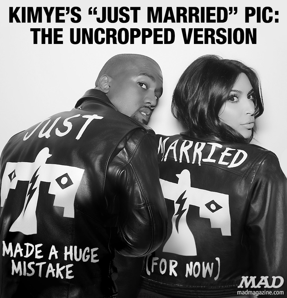 Idiotical Originals, Kim Kardashian, Kanye West, Kimye Wedding, Keeping Up with the Kardashians, Leather Jackets, Slush Puppy Mills