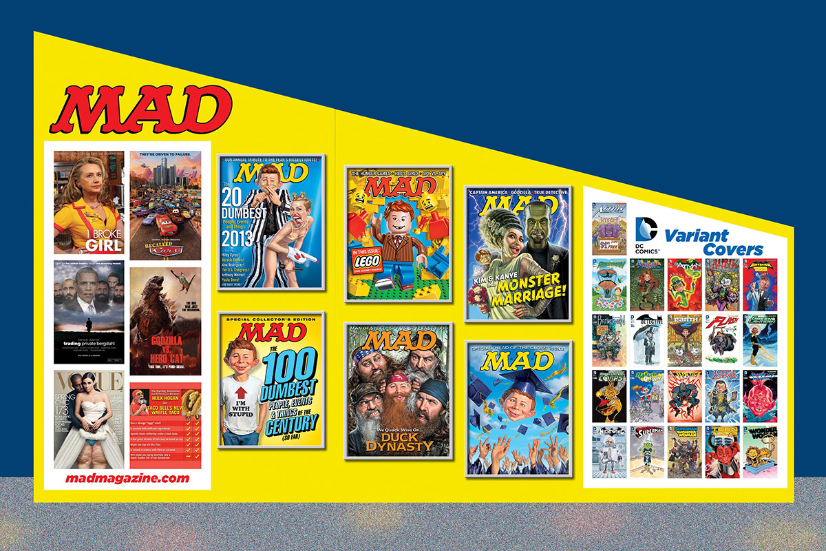 mad magazine the idiotical comic-con san diego 2014