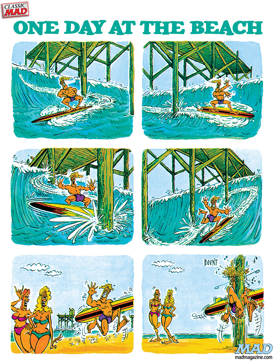 Classic MAD, Don Martin, Fonebone Friday, MAD #120
