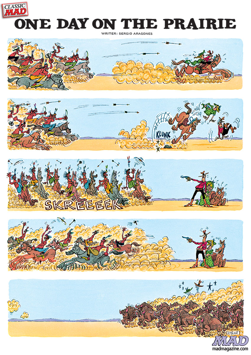 Don Martin: One Day on the Prairie