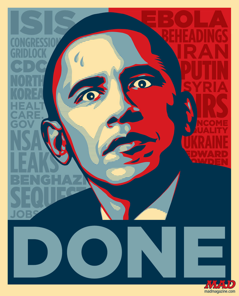 """The Obama """"HOPE"""" Poster Updated For 2014"""