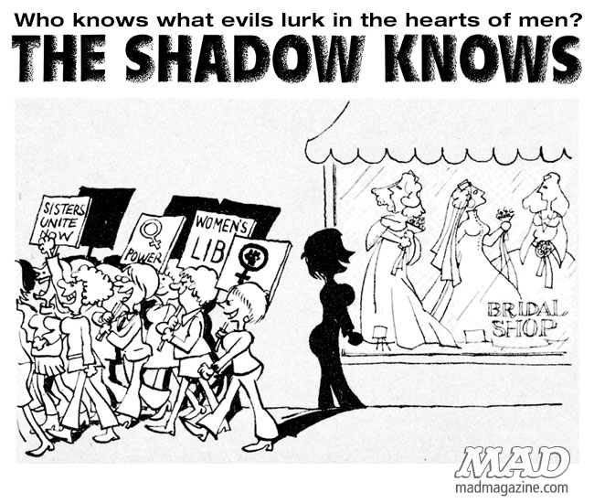 The Shadow Knows, Sergio Aragones