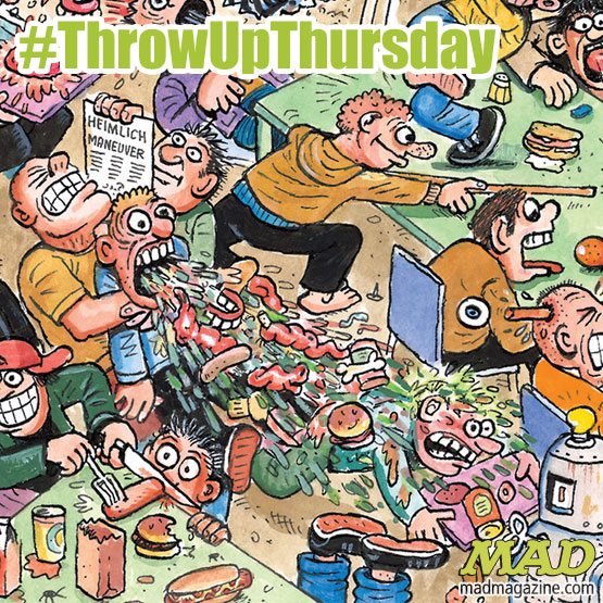 Throw Up Thursday, MAD #520, Tom Bunk