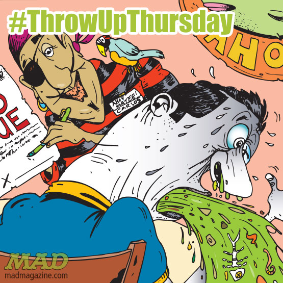 Throw Up Thursday, MAD #528, Kevin Pope