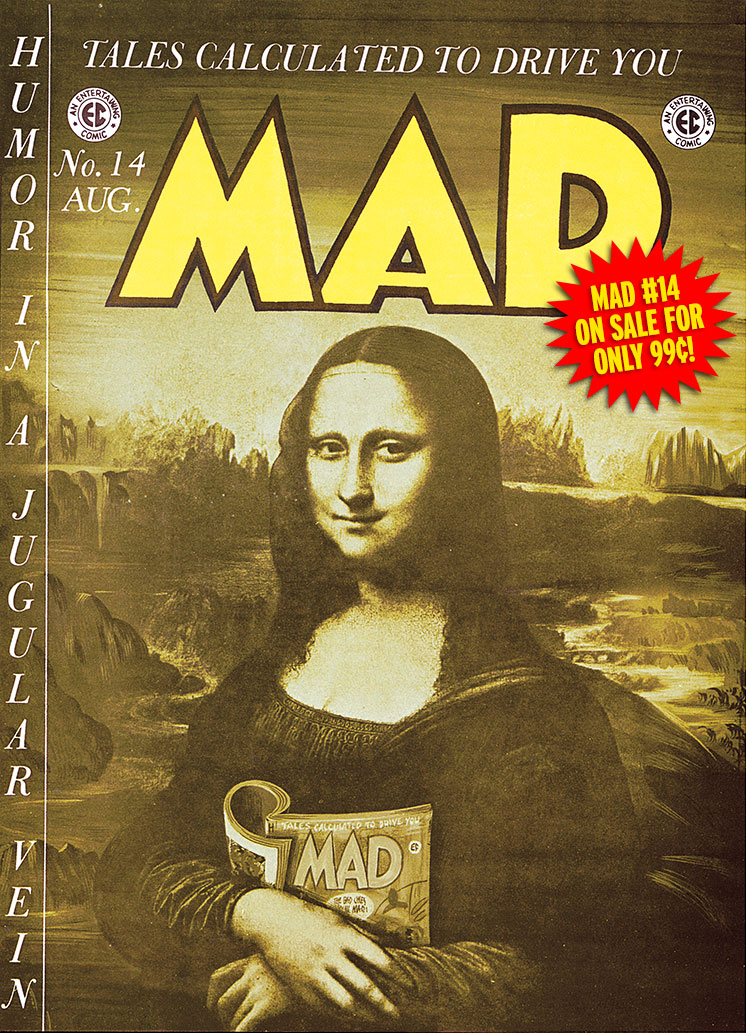 MAD Merchandise, MAD iPad App, iPad, MAD #14, Jack Davis, Will Elder, Wally Wood