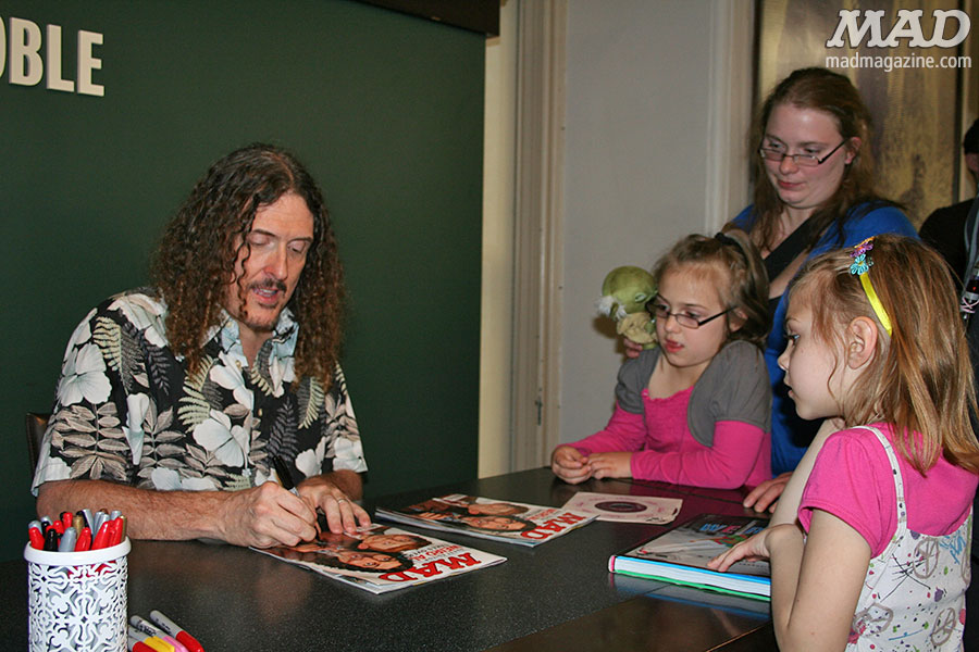 Weird Al Yankovic, MAD Events, Guest Editor, MAD 533
