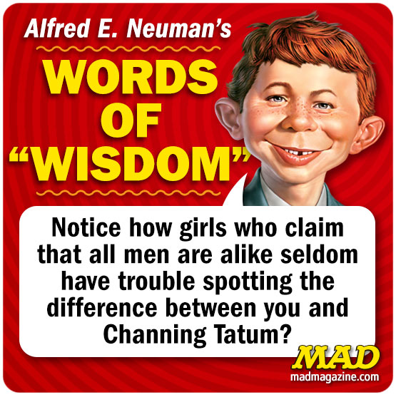 mad magazine the idiotical alfred e neuman's words of wisdom