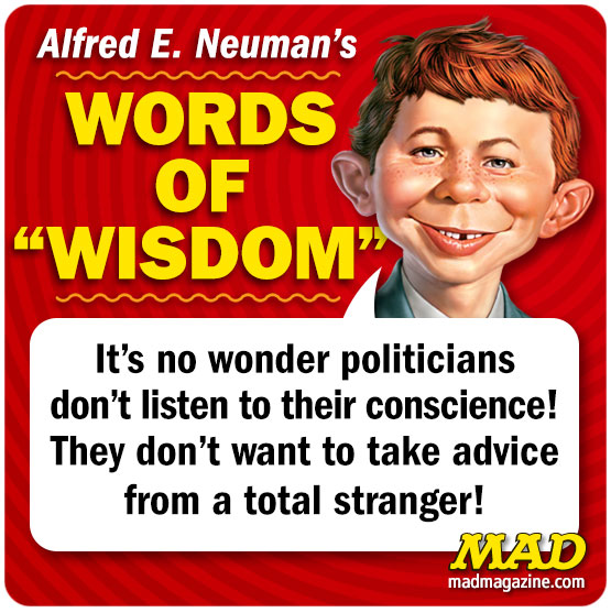 mad magazine alfred e neuman's words of wisdom