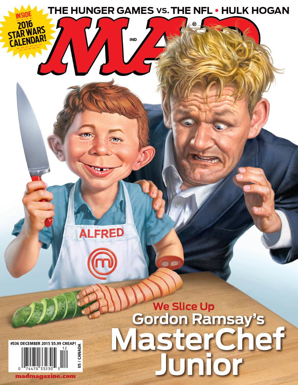 mad s masterchef junior cover mad magazine