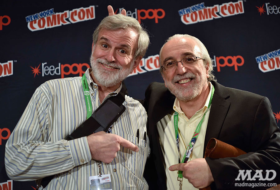 mad magazine nycc new york comic con sam viviano john ficarra